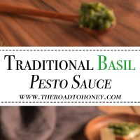 Traditional Basil Pesto Sauce