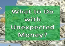 what to do with unexpected money