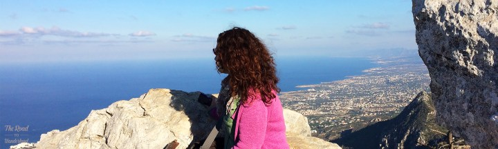 Me at St Hilarion Castle, North Cyprus