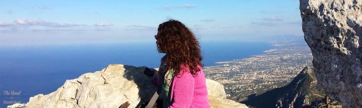 Me at St Hilarion Castle, North Cyprus