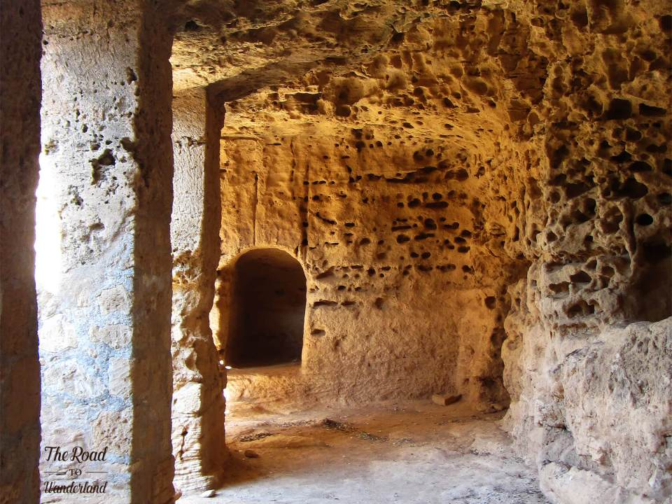 My favourite image from Tomb 5, Tombs of the Kings, Paphos