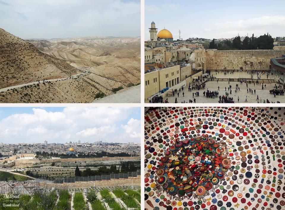 Review of 2017: Pics from Jerusalem & Tel Aviv, Israel