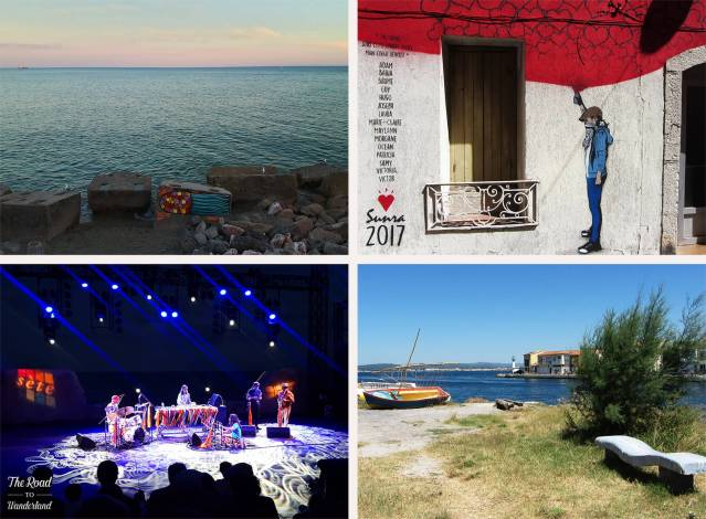 2018 Travel Review: Sète, France – The sea at Sète, graffiti, Pointe Longue, Jameszoo at Worldwide Festival