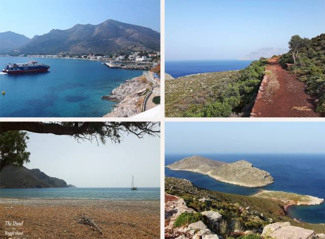 2018 Travel Review: Images from Tilos, Greece – Livadia Bay, Path to Lethra, View from Ruth's Rock, and Eristos Beach