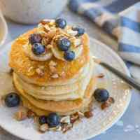 Paleo Almond Flour Pancakes (+Video)