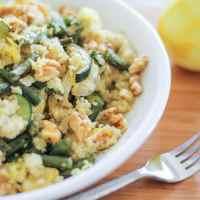 Roasted Summer Vegetable Quinoa Salad