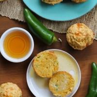Gluten-Free Jalapeño Cheddar Cornbread Muffins