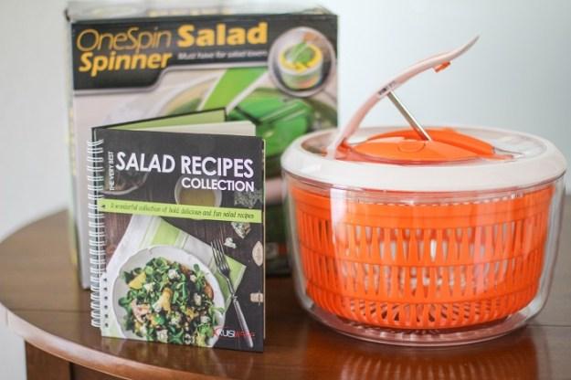 Kuisiware OneSpin Salad Spinner