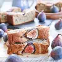 Paleo Almond Fig Quickbread