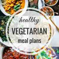 Healthy Vegetarian Meal Plan 12.17.2017