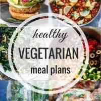 Healthy Vegetarian Meal Plan 02.18.2018