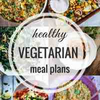 Healthy Vegetarian Meal Plan 03.18.18