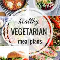 Healthy Vegetarian Meal Plan 06.23.2018
