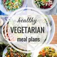 Healthy Vegetarian Meal Plan 07.22.2018