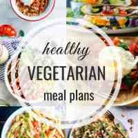 Healthy Vegetarian Meal Plan 08.19.2018