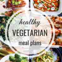 Healthy Vegetarian Meal Plan 03.24.2019