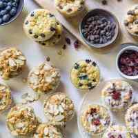 Paleo Coconut Flour Muffins (4 Ways!)