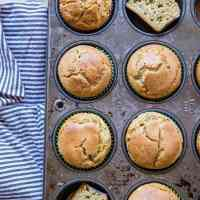Coconut Flour Zucchini Muffins (Paleo)