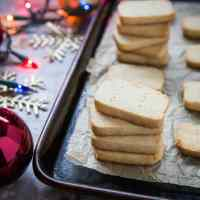 Make-Ahead 3-Ingredient Paleo Shortbread