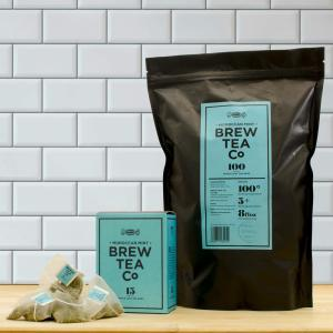 Brew Tea Co Moroccan Mint Proper Pyramid Tea Bags