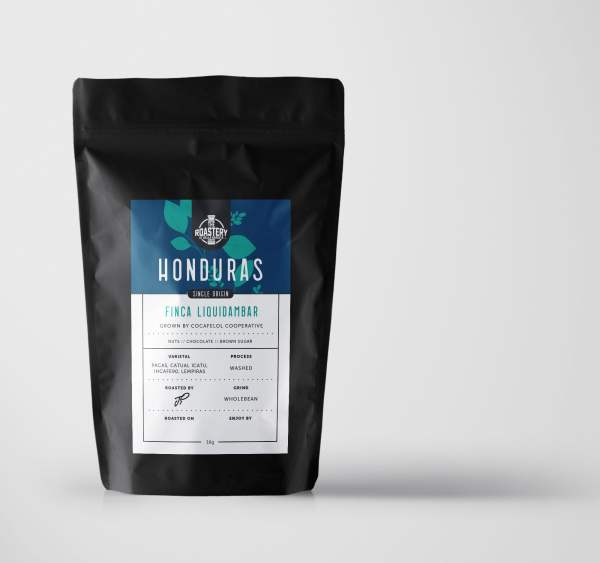 Honduras Liquidámbar Roast Coffee 250 Grams