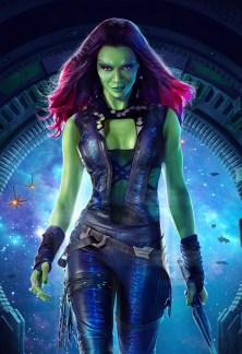 Gamora_Gotg_Textless_Poster