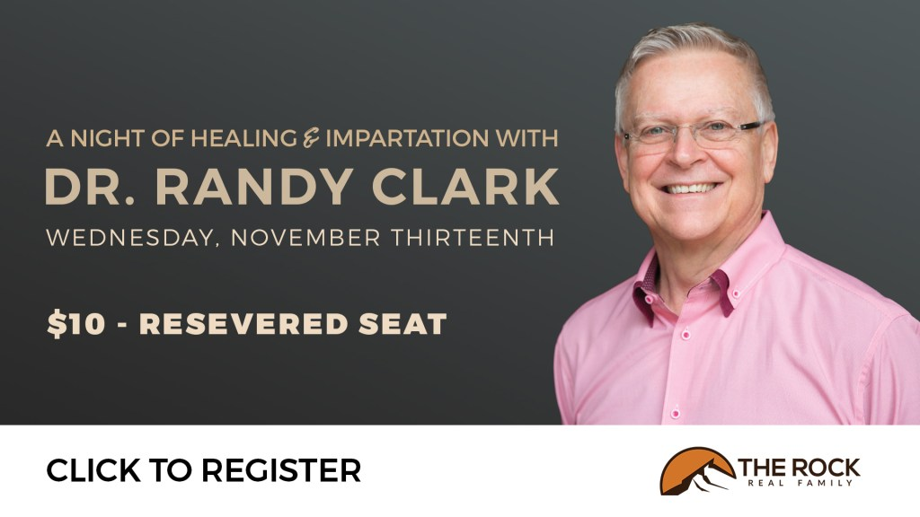 Dr. Randy Clark on 11/13