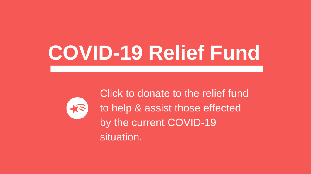 COVID-19 Relief Fund - Donate Now