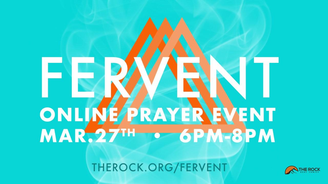 Fervent - March 27th 6pm-8pm