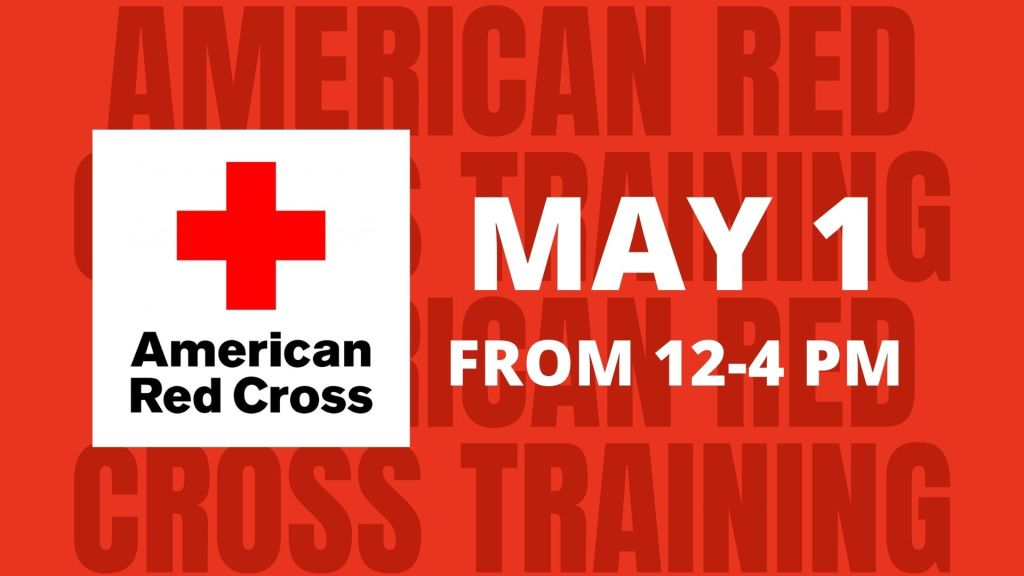 Red Cross Training Event - May 1