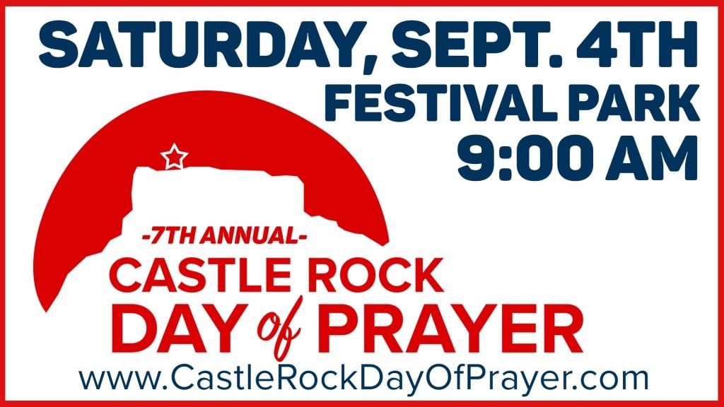 CR Day of Prayer on Saturday September 4th