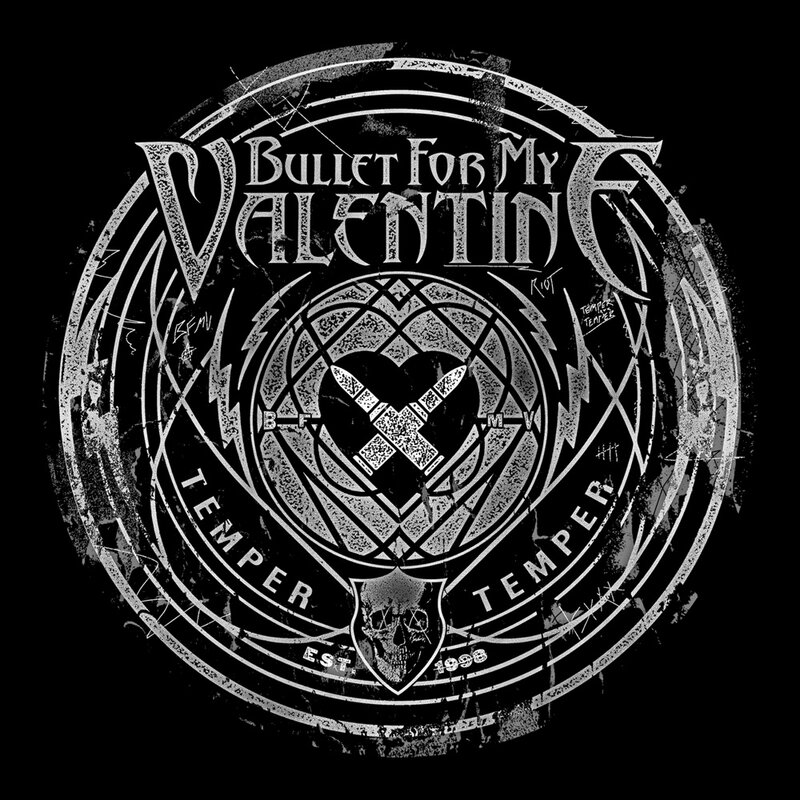 Bullet For My Valentine T Shirt Time To Explode 1990