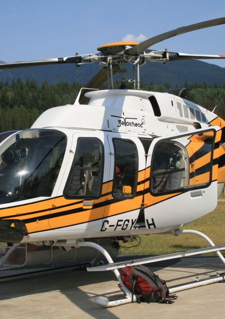 The Buzz on the Yellowhead: there has been quite a buzz around the hangar out at Yellowhead Helicopters recently.