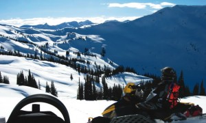 Sledding snowmobile backcountry rescue