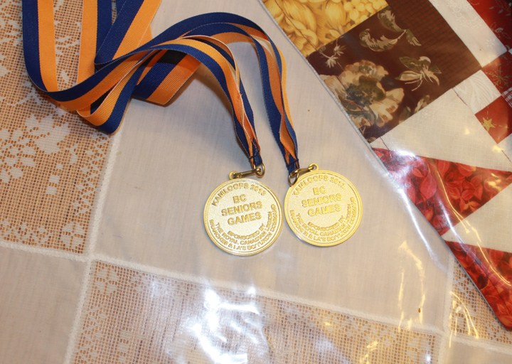 McBride local nets two golds at BC Seniors Games