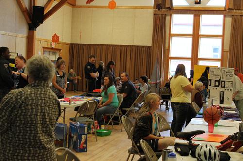 McBride celebrates volunteers with fair