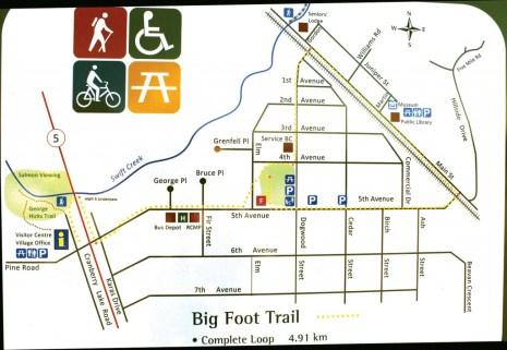 Big Foot Map BEST