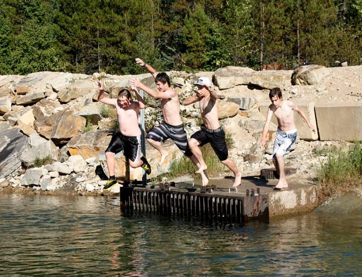 One more dip in Swift Creek!