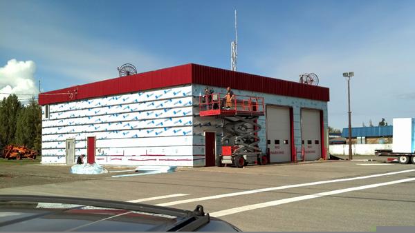 McBride, McBride Fire Hall, Robson Valley