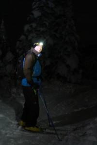 night skiing, 5 mile, 5 mile skiing, skiing, valemount at night, valemount lights