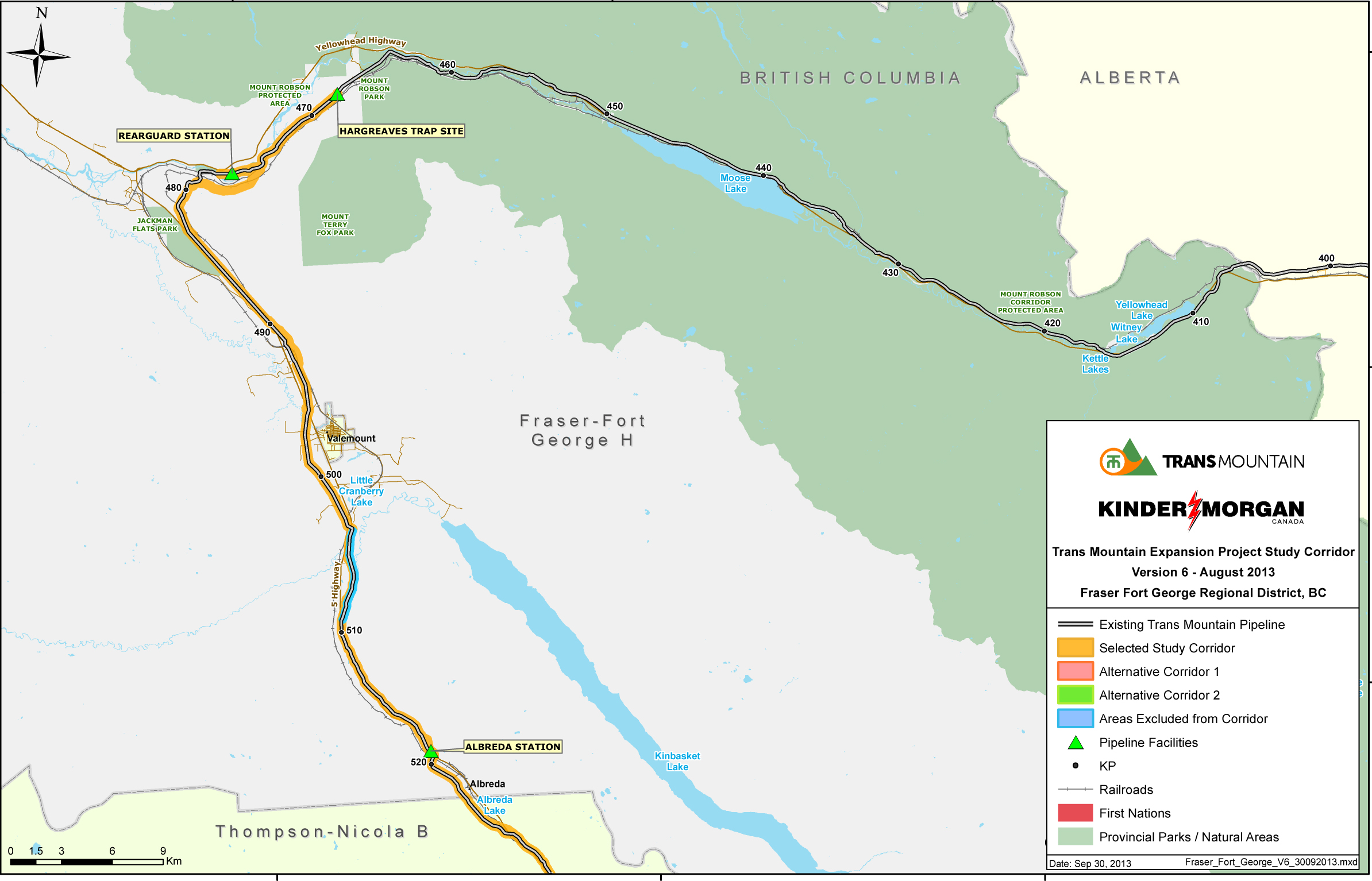 Kinder Morgan, pipeline map, pipeline expansion
