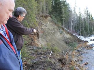 swift creek bank restoration bruce wilkinson mike wallis