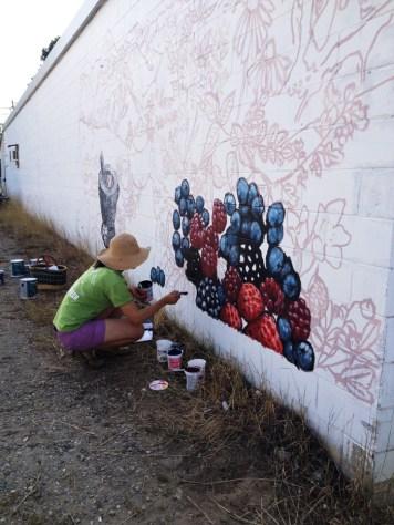 Carla McKirdy mural painter web