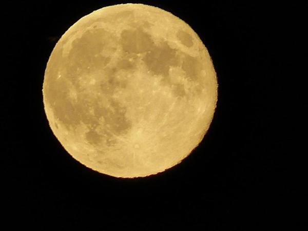 Rare Christmas full moon