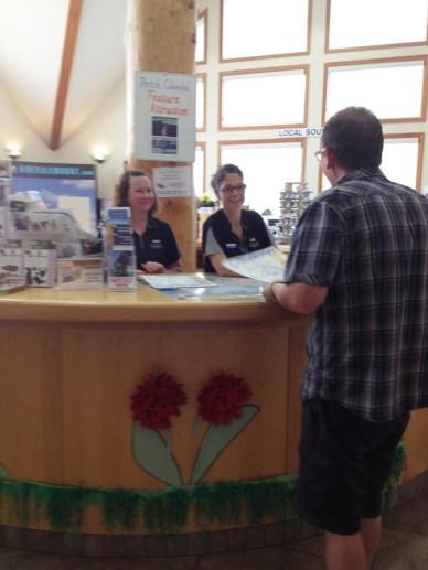 Valemount visitor information centre tourism tourist 2014 (2)