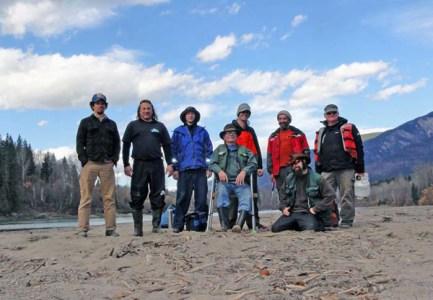 Fraser river raft trip 2014 Valemount Tete Jaune (3)