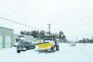 Valemount Snow dump removal grader Nov 27-28 2014 plow snow (19)