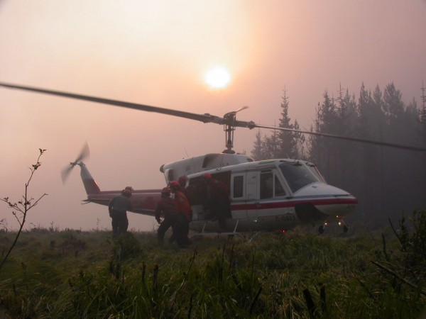 BC Gov Forest Fire Pic from FB