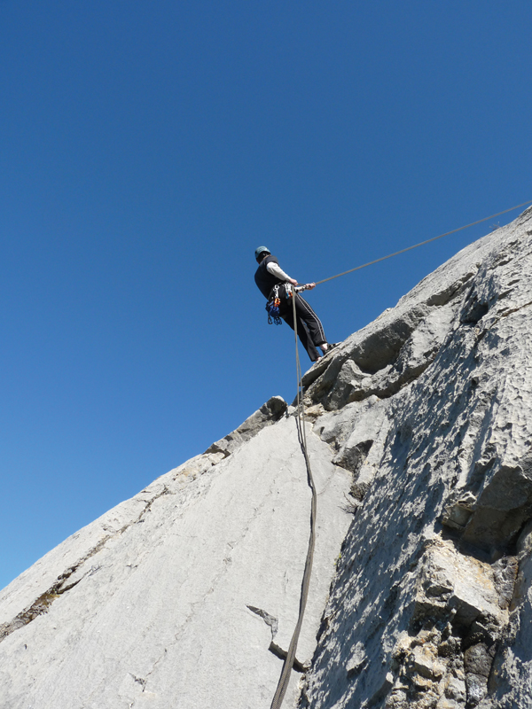 Rocky Mountain high – rock climbing in Jasper