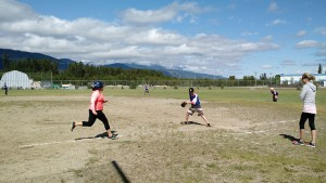 Valemount McBride softball